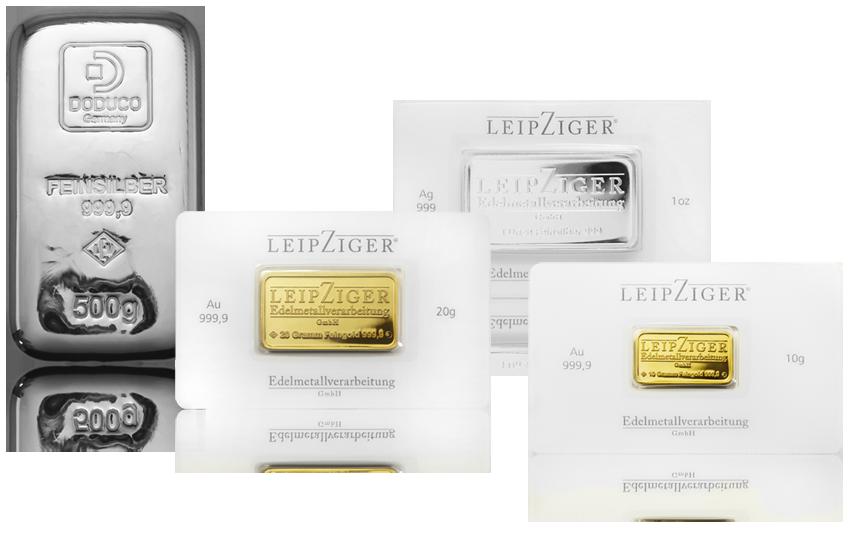 Produkte Leipziger Edelmetallverarbeitung GmbH